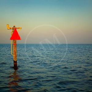 Channel Marker On Mobile Bay